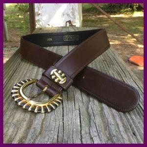 Vtg Leather Belt